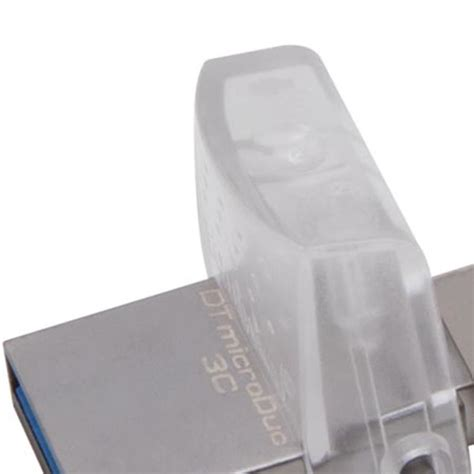 Kingston Datatraveler Micro 31 Usb Dtmc316gb 16gb Silver kingston datatraveler microduo 3c 16gb usb 3 1 kopplat se