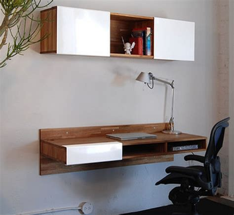 Small Floating Desk Stylish Floating Desk With Storage Small Floating Desk