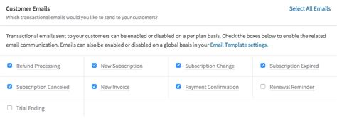 Recurly Documentation Subscription Renewal Email Template