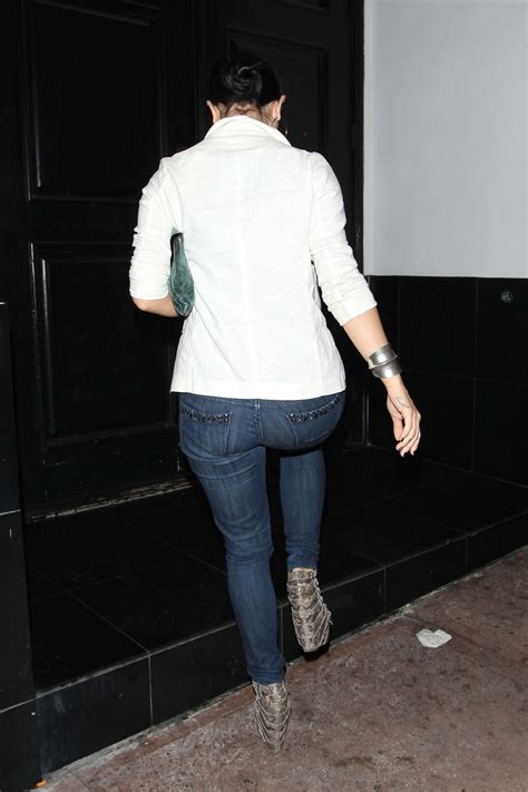 joanna jojo levesque tight jeans candids  hollywood
