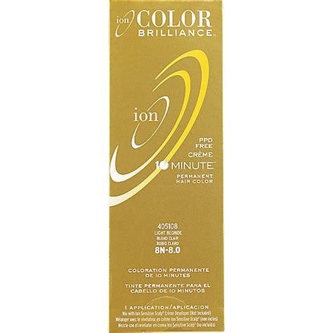 10 minute hair color ion color brilliance last chance permanent creme 10 minute
