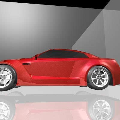 nissan sports car models 3d nissan sports car model