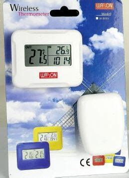 Termometer Watson watson w 8685 wireless linked indoor outdoor thermometer
