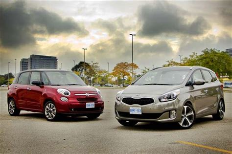 Kia 500l 2014 Fiat 500l Vs 2014 Kia Soul Comparison Test Holidays Oo