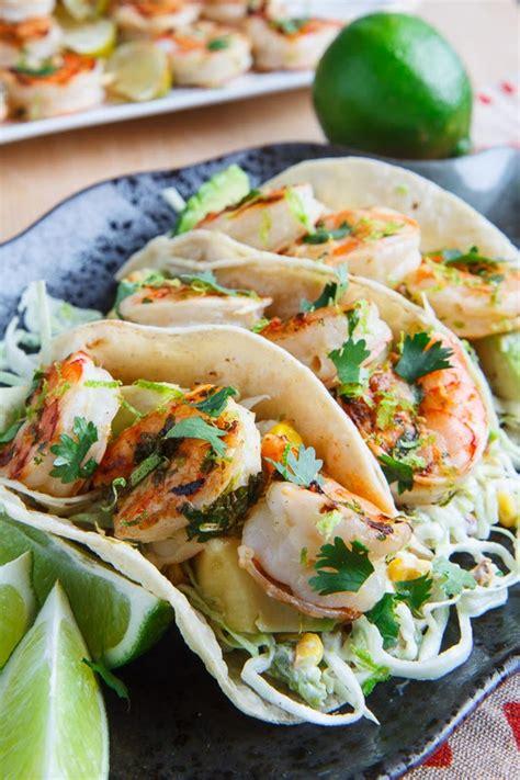 prawn taco boats shrimp tacos recipe dishmaps