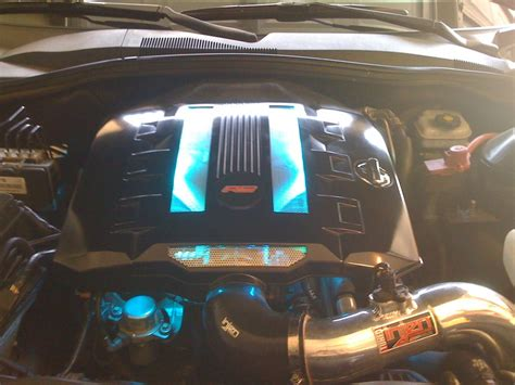Senter Led S W A T By Tf Niaga engine covers with led s camaro5 chevy camaro forum