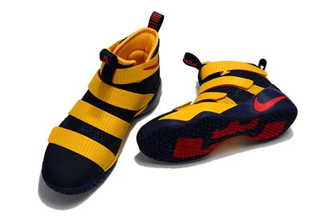 Promo Sepatu Basket Nike Lebron Soldier 11 wholesale nike lebron soldier 11 blue yellow gs