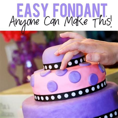 easy to make marshmallow fondant recipe from how does she