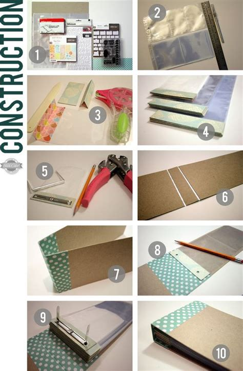 How To Make A Handmade Scrapbook Album - great tutorial from kinsey on a diy mini scrapbook