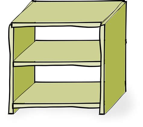 Comic Book Shelves clipart comic style shelves