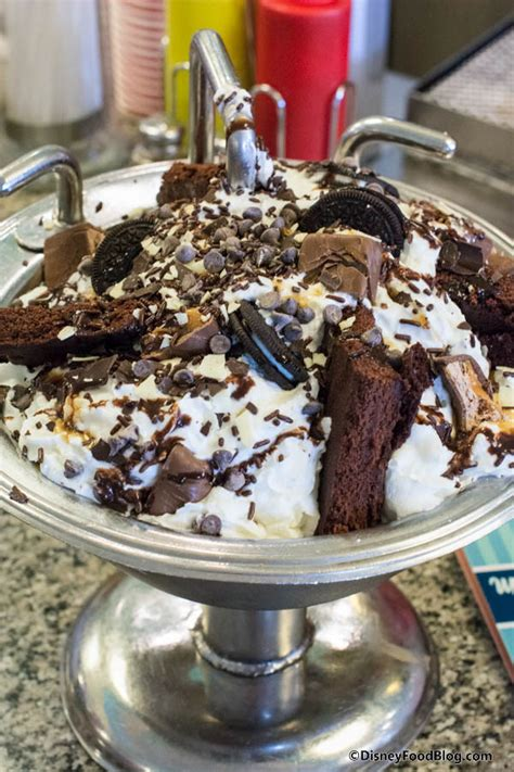 The Kitchen Sink Sundae by Onthelist The Kitchen Sink Sundae And Chocolate