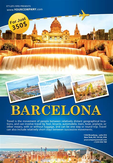 bus trip flyer templates free best travel images and
