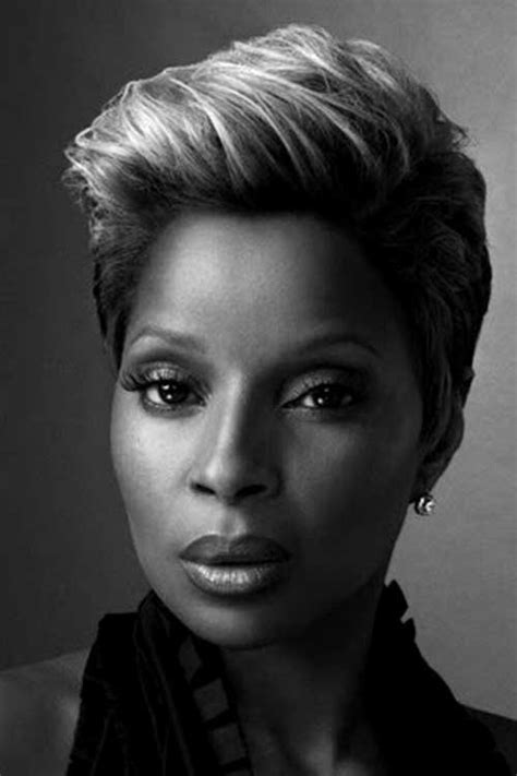 mary j blige hairstyles pictures short cuts for black women the best short hairstyles for