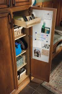 utility drop zone cabinet schrock cabinetry