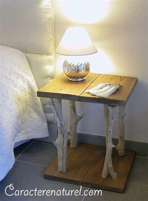 table de chevet fait maison table de chevet faite en bois meubles