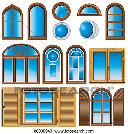 clipart windows clipart of collection of windows k8008943 search clip