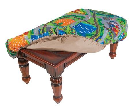 cloth table cover square cloth covered coffee table beveled edge for