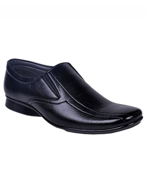 leeport black formal shoes snapdeal price formal shoes