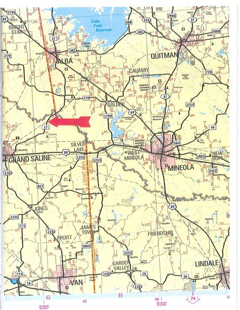 map of zandt county texas 80 62 acres in zandt county texas