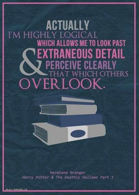 Hermoine Granger Quotes by Hogwarts Alumni Hermione Granger Quotes
