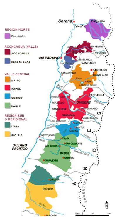 chile regions map chile wine regions quotes