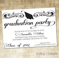 graduation invite templates unique ideas for college graduation invitations