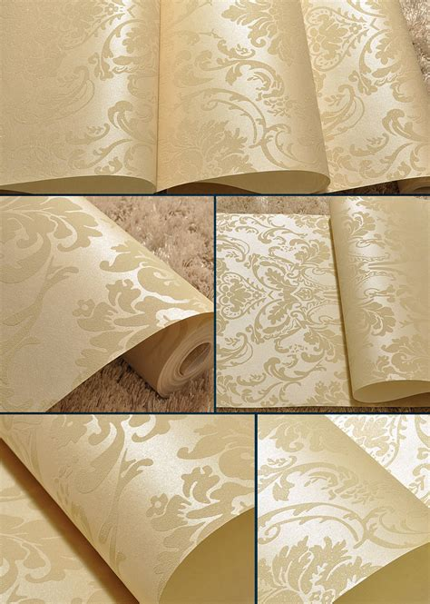 gold pattern embossed gold victorian damask glitter luxury pattern embossed