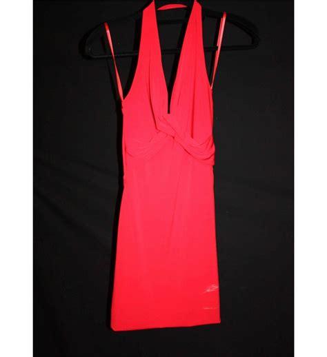 what size dress is yolanda yolanda arce red halter dress size 4