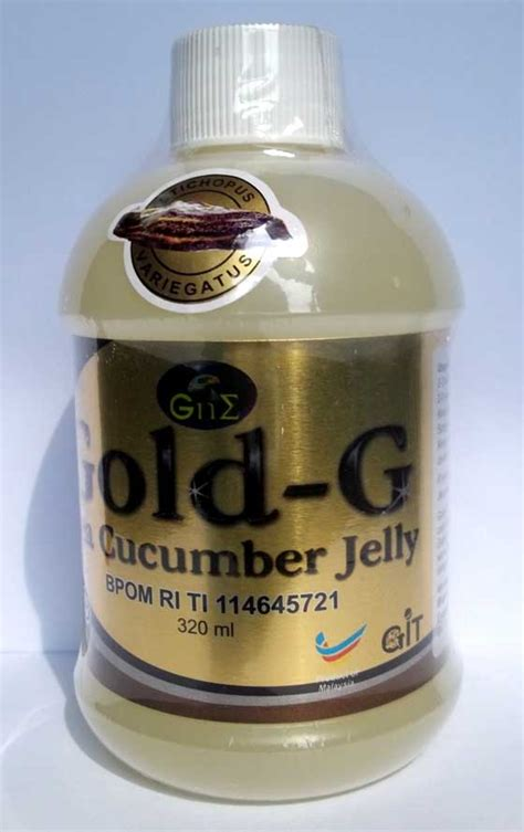Jelly Gamat Gold G 320 Ml Harga Normal Rp 180 000 jelly gamat gold g