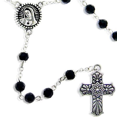 rosary bead kits of guadalupe rosary jet rosary kit