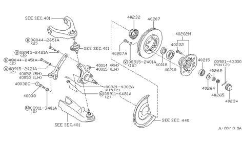 1996 nissan suspension parts diagram nissan auto