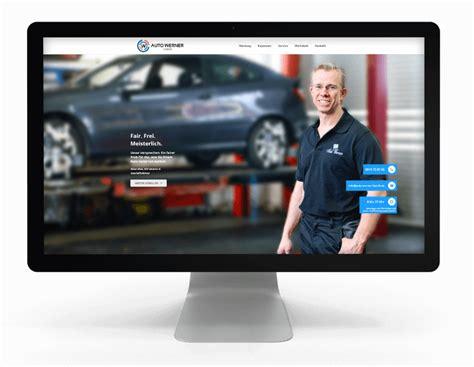 Auto Werner webseite kfz werkstatt auto werner besser mit butter