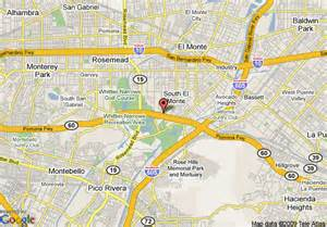 map of ramada inn and suites south el monte