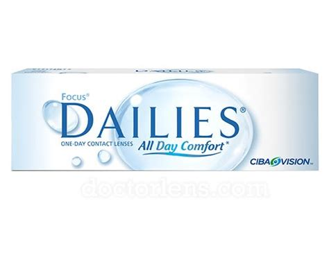 Focus Dailies All Day Comfort Alcon Vision Care
