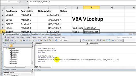 vlookup basic tutorial excel vba vlookup what is activex excel vba loops