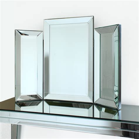 Design This Home Delivery Vanity venetian three fold modern dressing table mirror mirrors