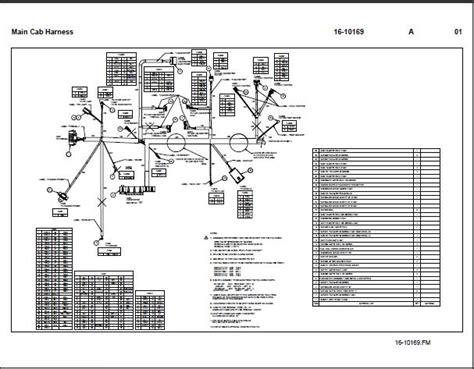 peterbilt light wiring diagram peterbilt 387 cab harness brady diesel services