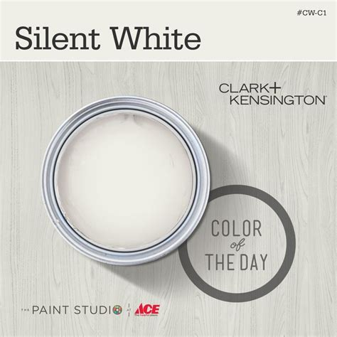 color of the day color of the day silent white by clarkandkensington