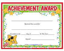 Free Printable Clean Room Award Certificates Editable Certificate Of Achievement Template