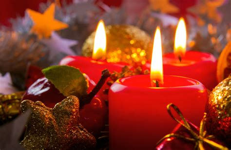 foto candele natalizie mercatini di natale in trentino alto adige italia
