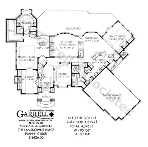 Small Master Suite Floor Plans lansdowne place house plan luxurious european manor