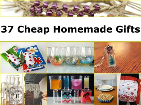 Cheap Handmade Gifts - centerpiece ideas candles home decor ideas