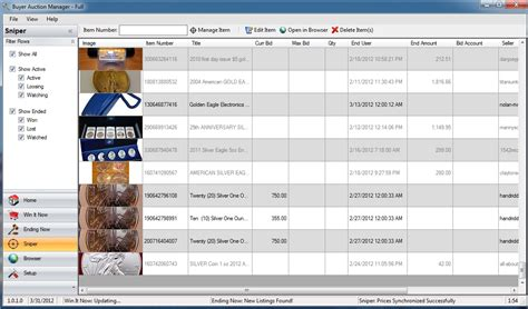 ebay sniper buyer auction manager full ebay software for buyers