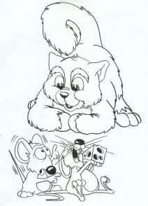 coloriage chat rat ancenscp