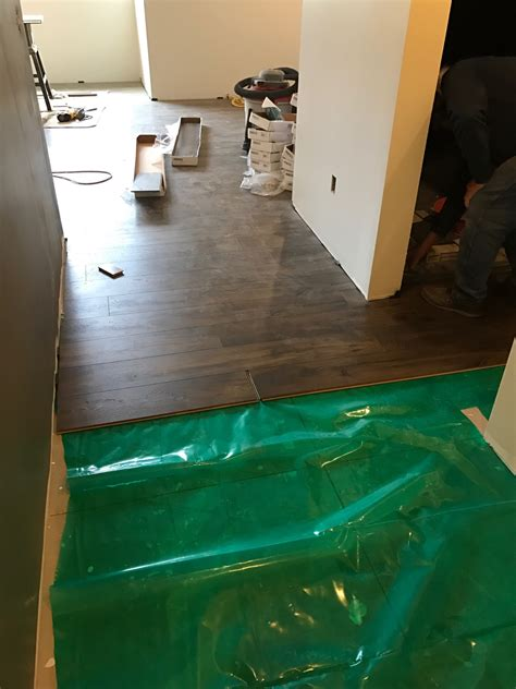 pergo floors in basement