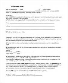 dj booking contract template sle dj contract 10 exles in word pdf