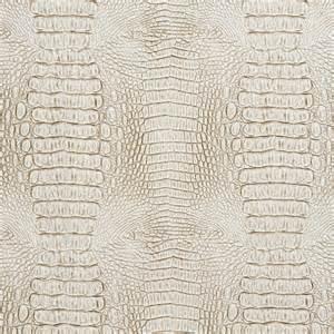 Faux Cowhide Fabric Upholstery White And Gray Alligator Faux Leather Vinyl By The Yard