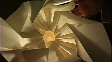 Paper Folding Documentary - origami s cosmic potential improvised