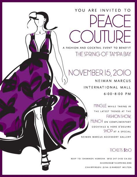 fashion show invitation card templates fashion show poster ideas search fashion show