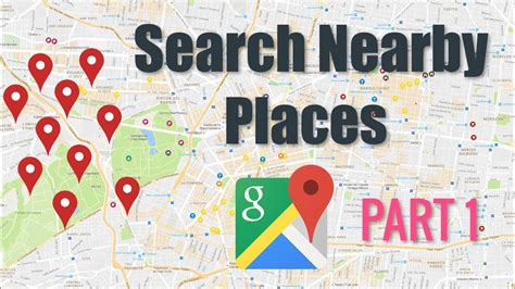Android Nearby Places Exle by Maps Nearby Places Tutorial Part 1 Android